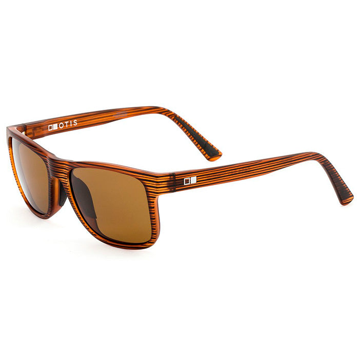 Otis Casa Bay Sunglasses - Woodland Matte/Brown Polar