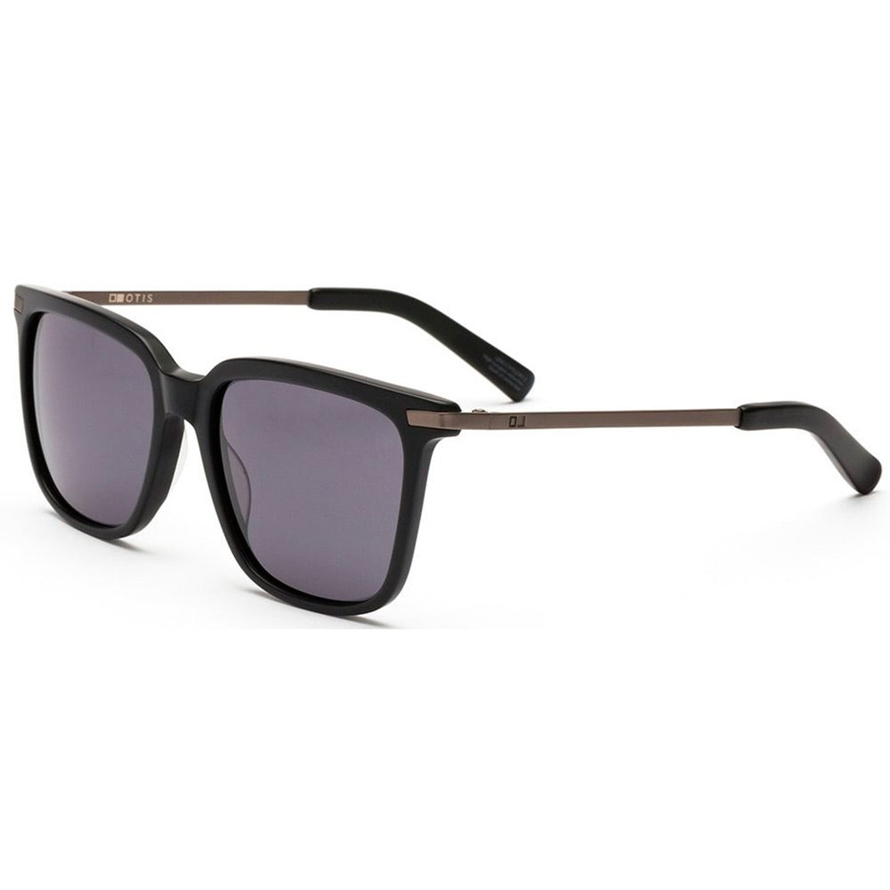Otis Crossroaads Sunglass - Matte Black Grey