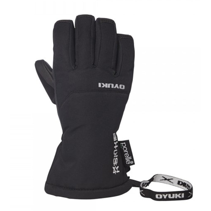 Oyuki The Chotto Kids Ski Glove - Black