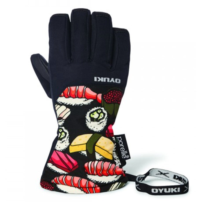 Oyuki The Chotto Kids Ski Glove - Sushi