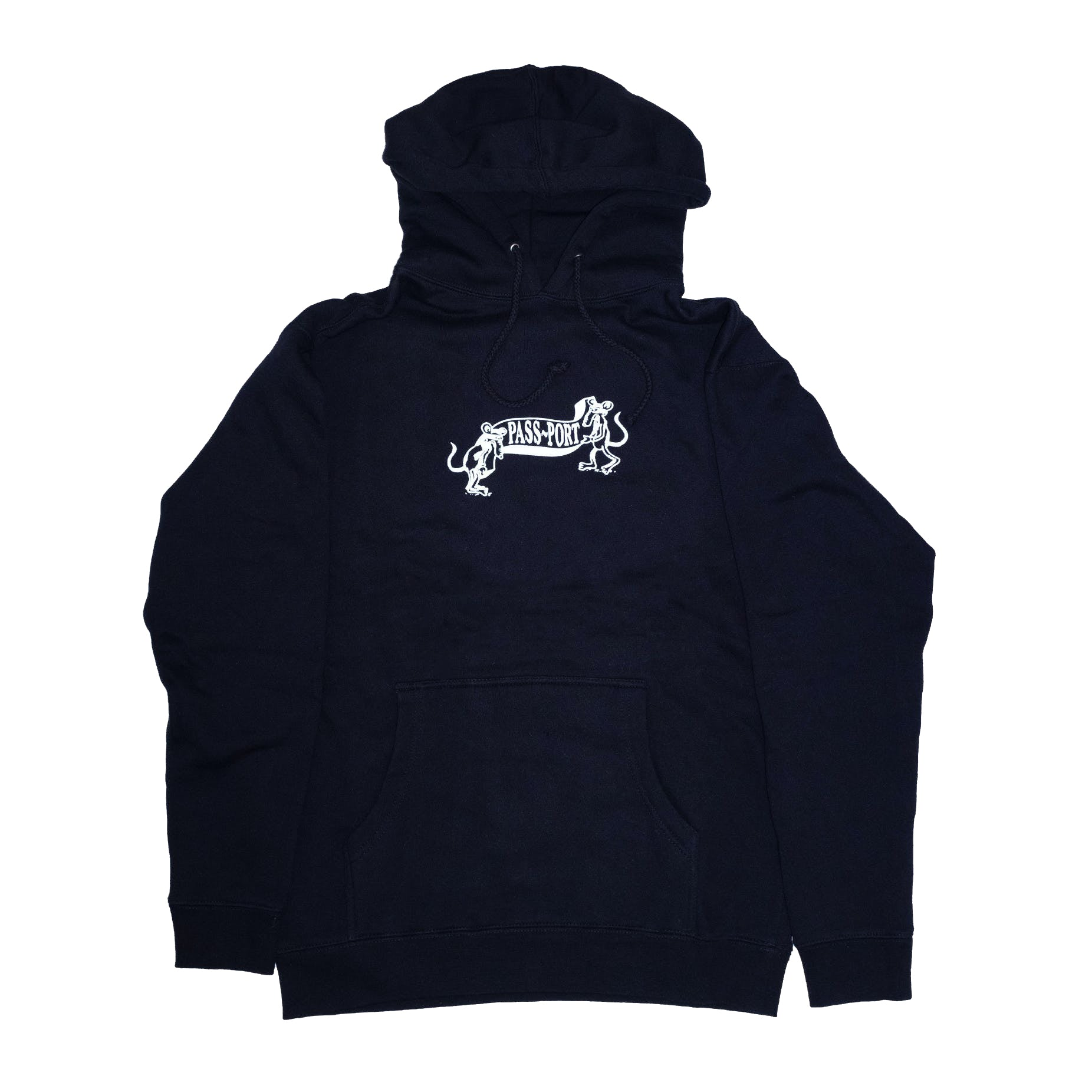 Passport Missing Tilde Hoodie - Black