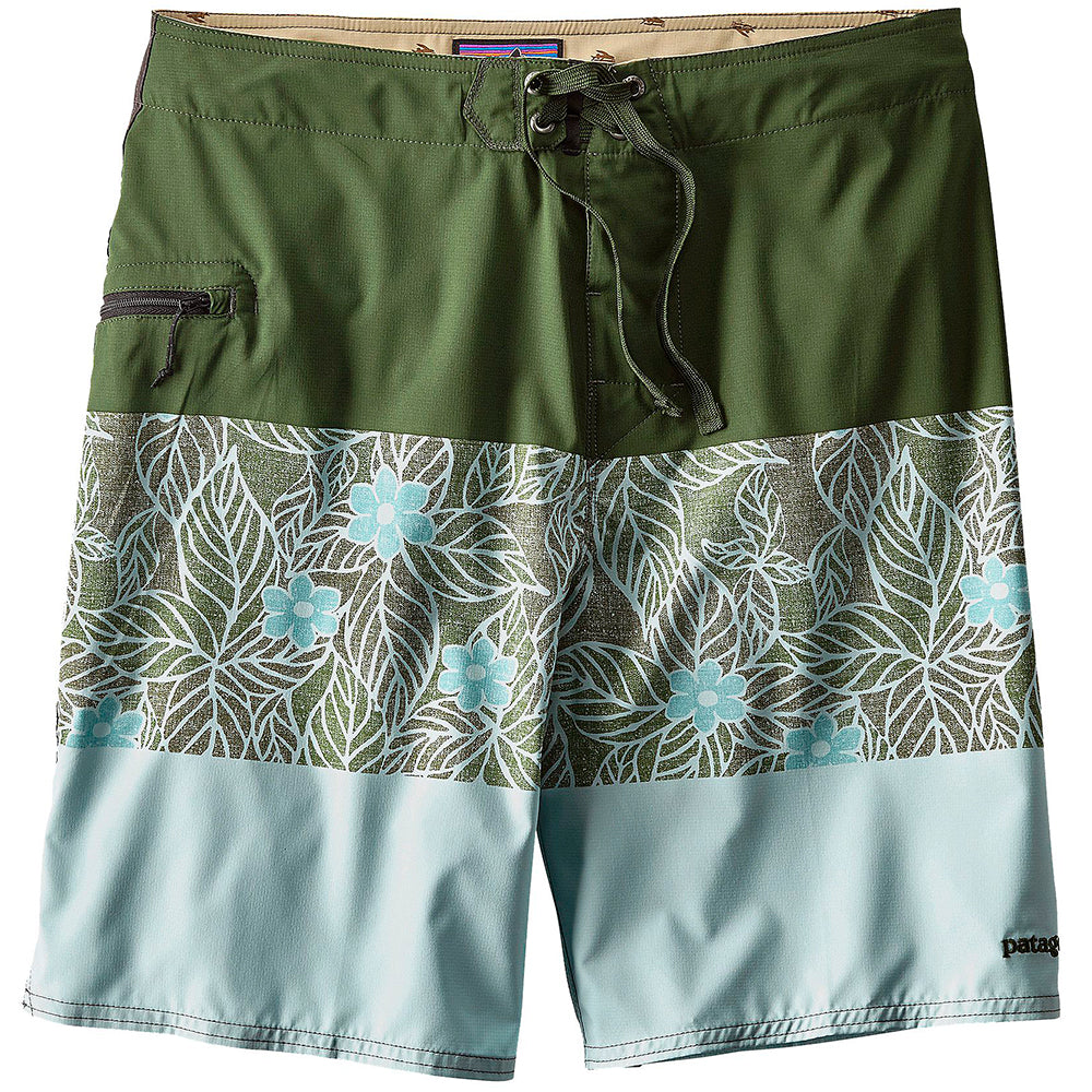 Patagonia Stretch Planing Boardshorts 20 in Mens - Industrial Green