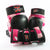 Exite - Critters Premium 3 Pack Skate Protection Youth - Camo Pink