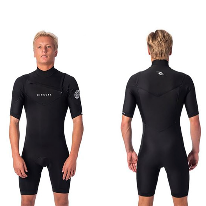 Rip Curl Dawn Patrol 22 GB C/Zip Springsuit - Mens Black