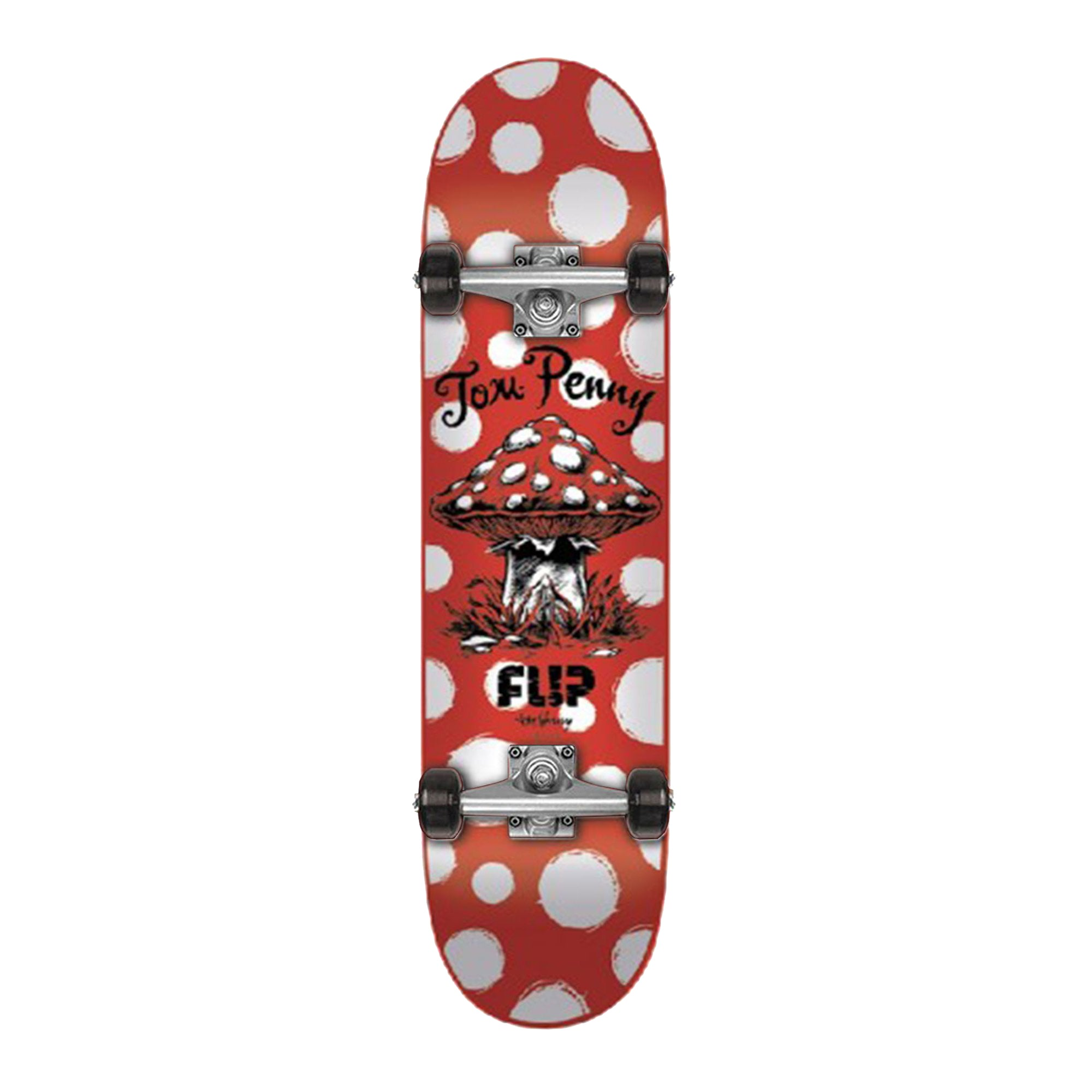 Flip Dots Penny Complete 8.125- Red