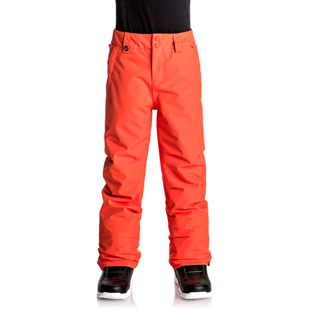 Quiksilver Estate Pants Boys - Mandarin Red