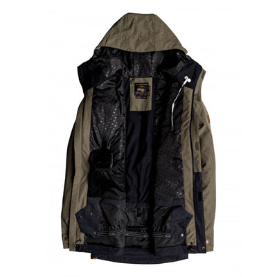 Quiksilver Horizon Jacket Mens - Grape Leaf