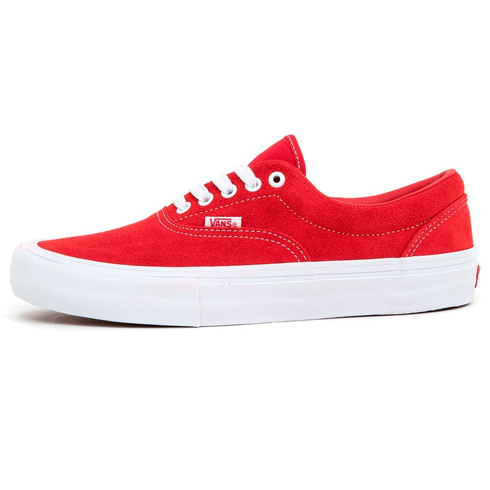 Vans Era Pro Mens - Suede Red/White