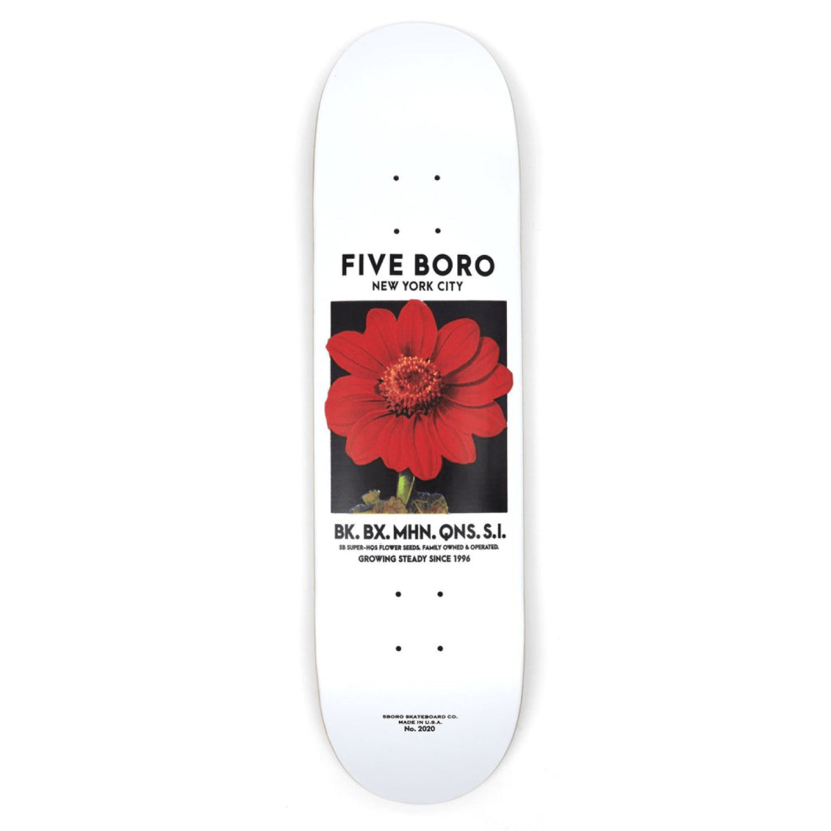5Boro NYC Flower Seed Red Deck 8.0