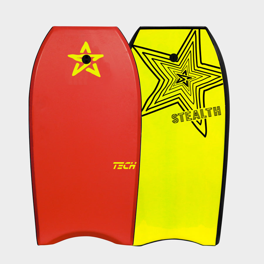 Stealth Tech EPS 38 Bodyboard - Red