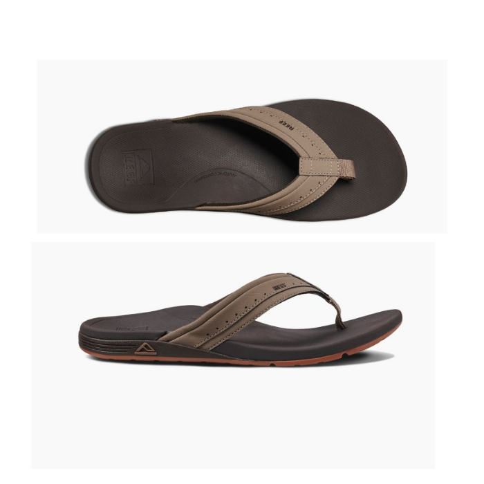 Reef Ortho Spring Sandal - Mens - Brown