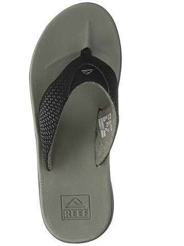Reef Rover Sandal - Mens Black/Grey/Olive
