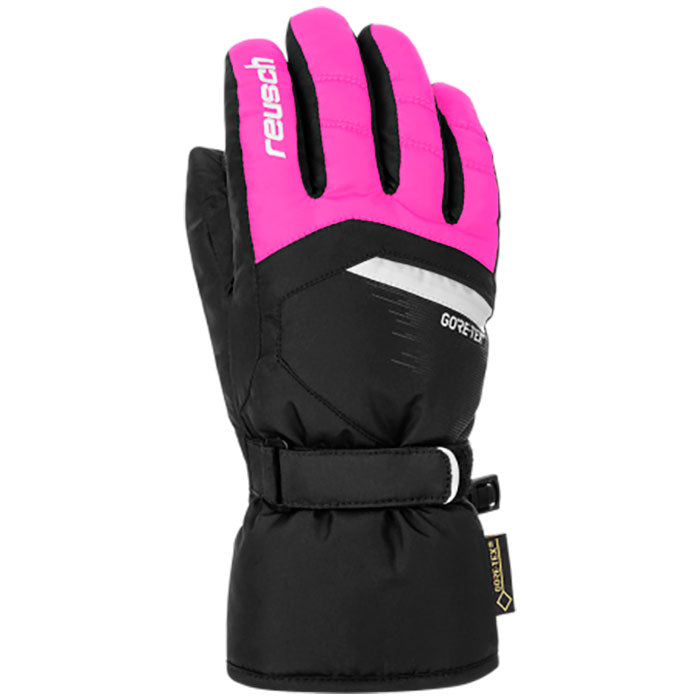 Reusch Bolt Gore Tex Glove Kids - Black/Pink