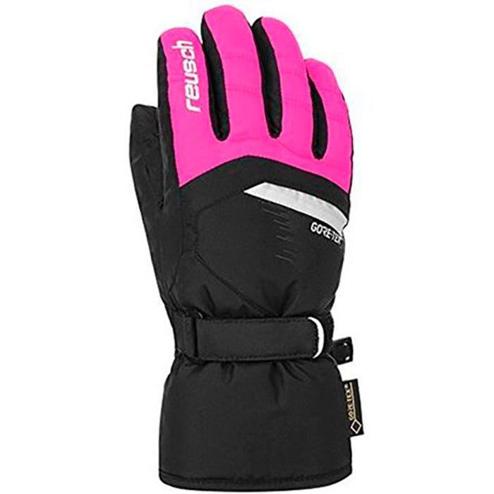 Reusch Bolt Gore-Tex Junior Glove - Black/Pink