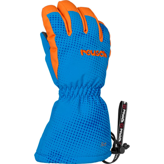 Reusch Maxi R Tex Mitten Infants - Blue/Orange