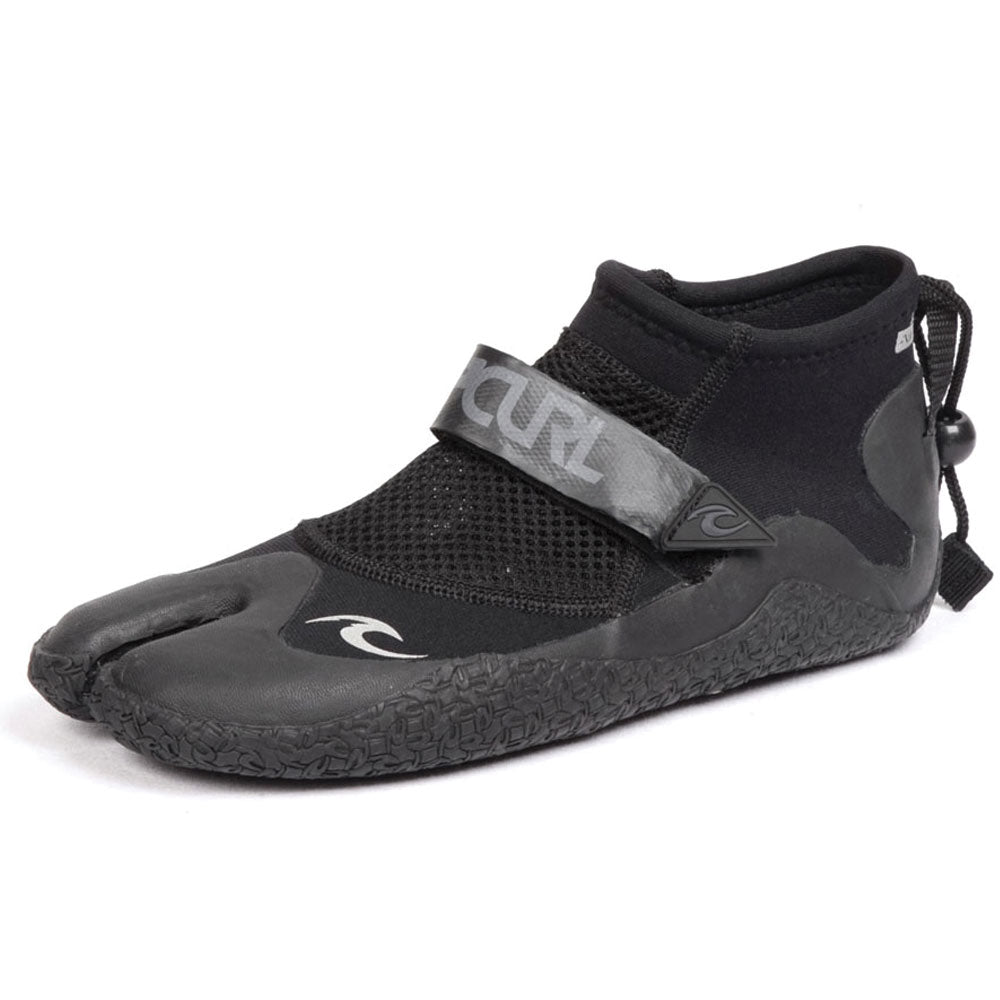 Rip Curl Reefer 1.5mm Bootie - Black/Charcoal