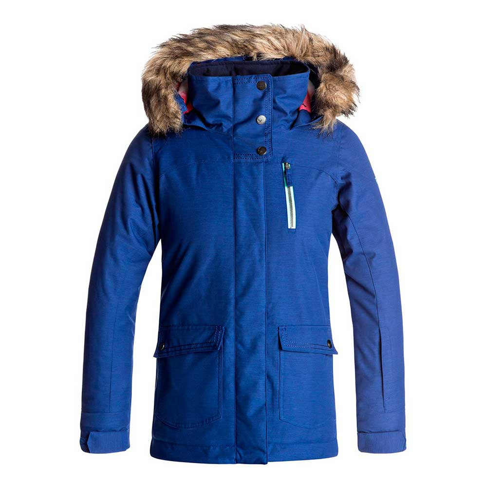 Roxy Tribe Jacket Girls - Sodalite Blue