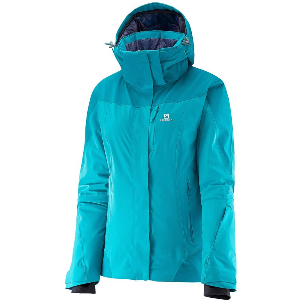 Salomon Icerocket Jacket Womens - Rooster Blue/Kouak Blue