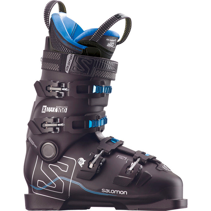 Salomon X Max 100 Mens Boots - Black/Metallic Black/Indigo Blue
