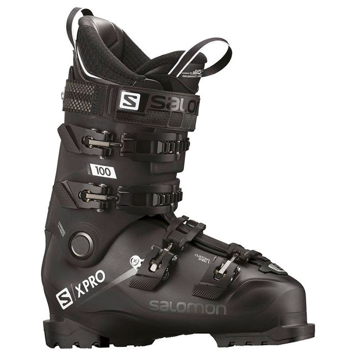 Salomon X Pro 100 Mens Ski Boot - Black/Metablack