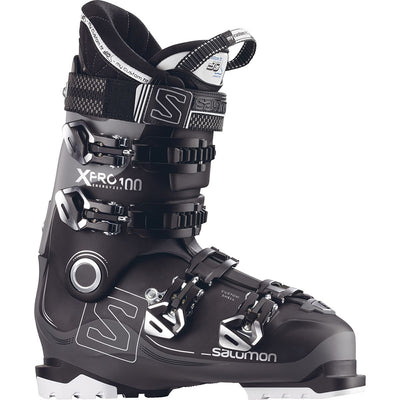 Salomon X Pro 100 Ski Boot Mens Black Anthracite Grey