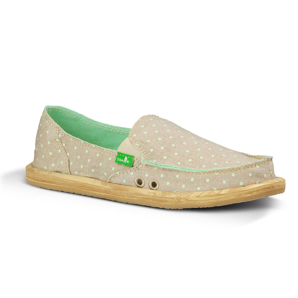 Sanuk Hot Dotty Natural Mint