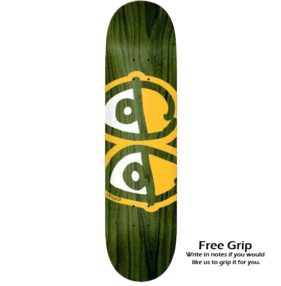 Krooked Team Eyes Deck - 8.06 - FREE GRIP