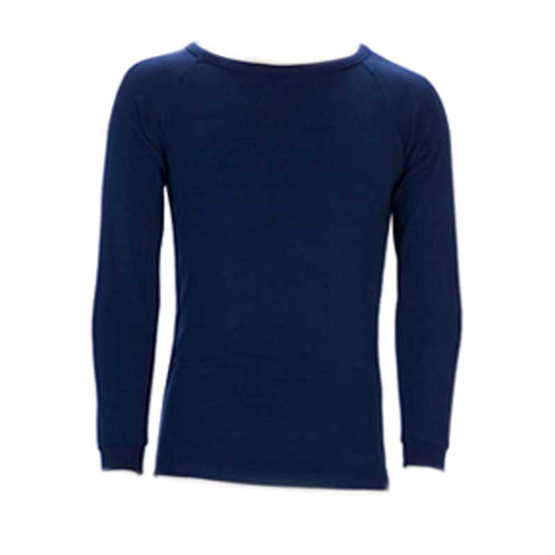 Sherpa Thermal Long Sleeve Top - Kids Navy