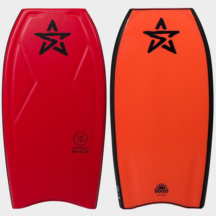 Stealth Shield PP 40 Bodyboard - Red