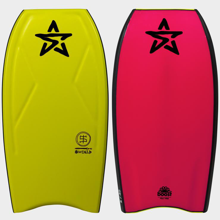 Stealth Shield PP 40 Bodyboard - Yellow