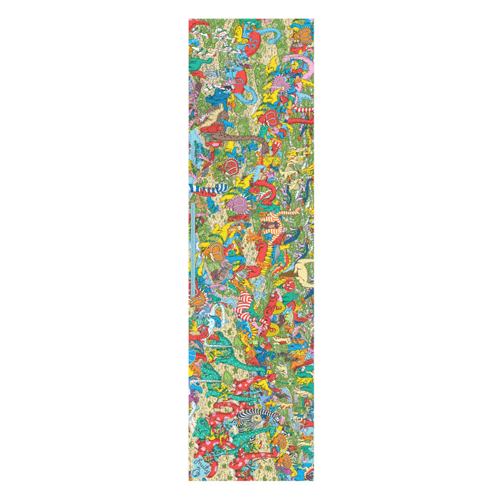 Fruity Griptape 9x33 - Wheres Wally Jurrasic Games Single Sheet