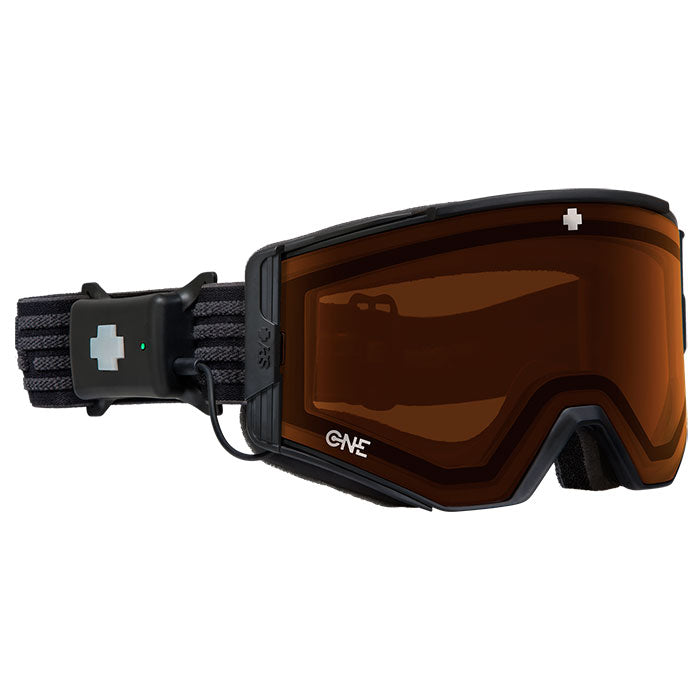 Spy Ace EC Digital Goggles - Black - Persimmon One