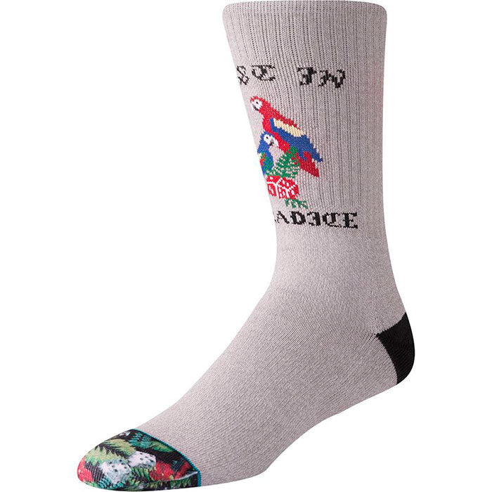 Stance Marseille Sock - Mens Grey