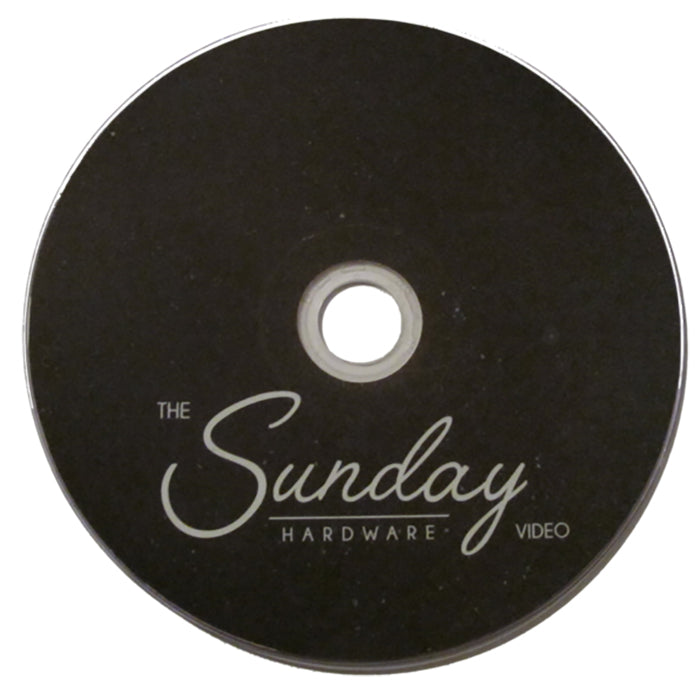 Sunday Hardware Video DVD