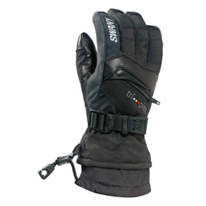Swany X-Change Junior Glove - Black