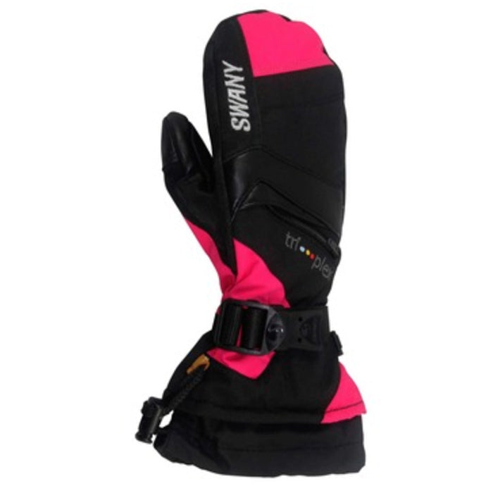 Swany X-Change Junior Mitt - Black/Magenta