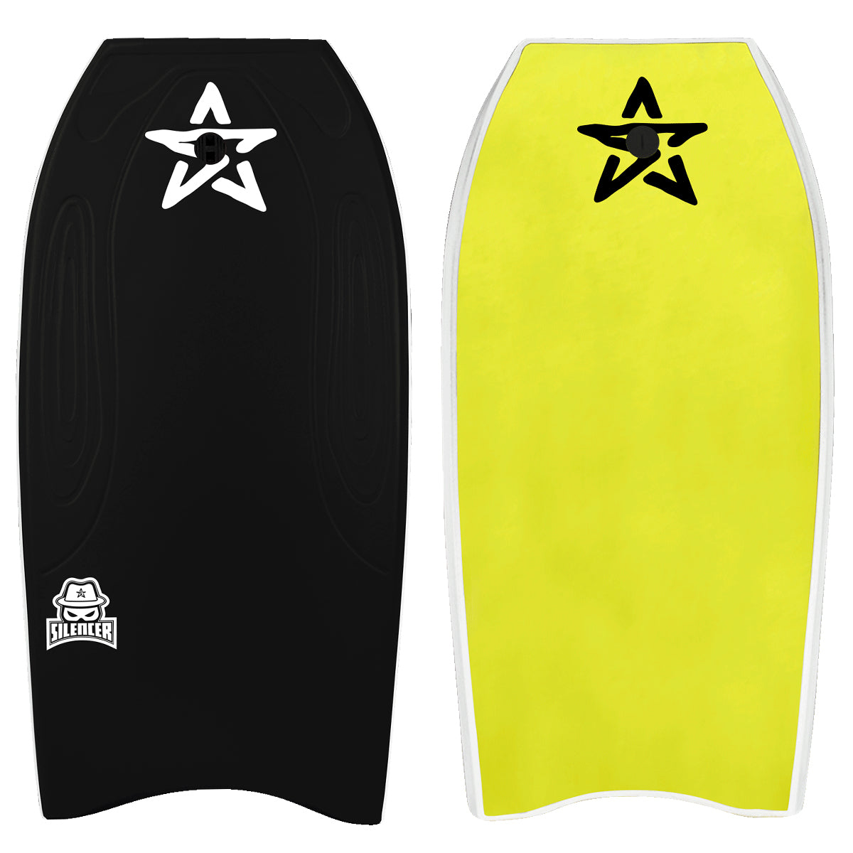 Stealth Silencer 38 Bodyboard - Black