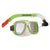 Land & Sea Bermuda Mask And Snorkel Set - Green