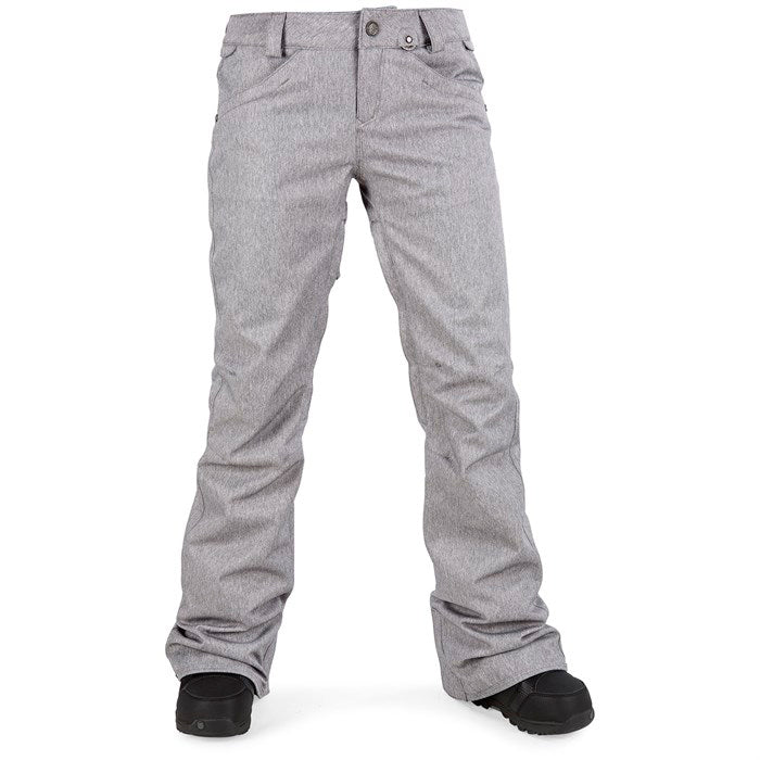 Volcom Species Stretch Pant Womens - Heather Grey