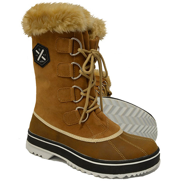 XTM Juno Womens Apres Boot - Brown