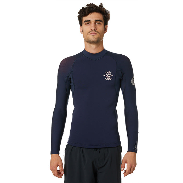 Rip Curl E-Bomb 1.5mm L/SL GB Jacket - Navy/Red