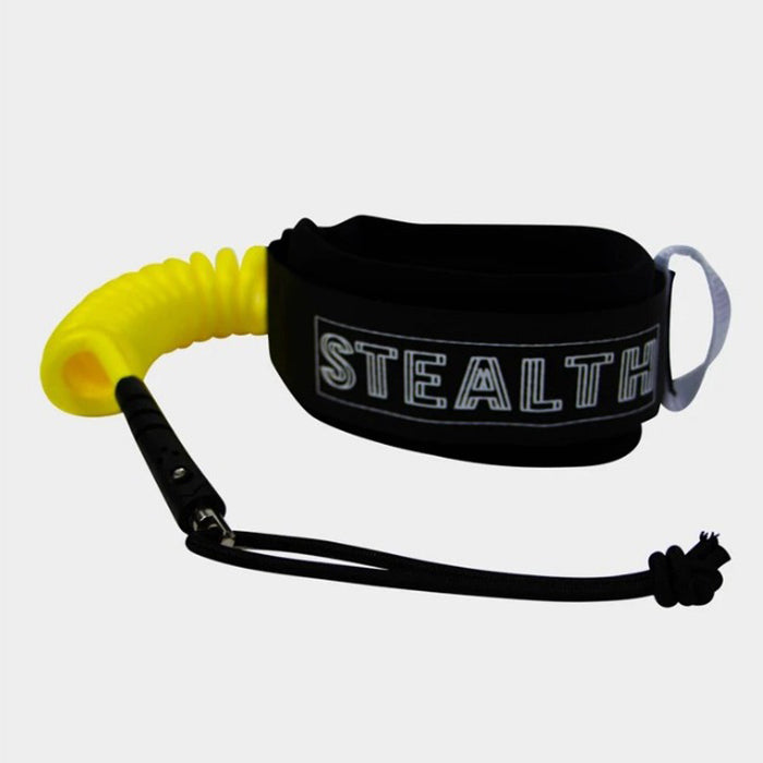 Stealth Basic Bicep Leash - Yellow
