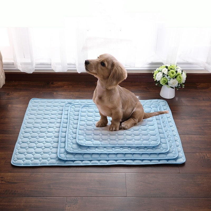 Soft Pet Blanket Portable Cooling Pad