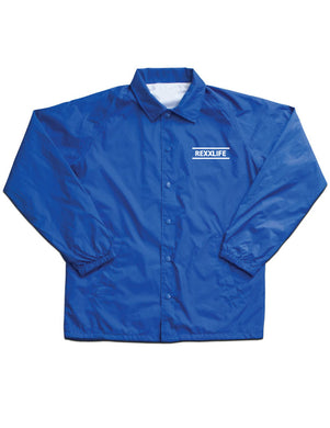 """Royal Blue Coach Jacket (Limited)"""