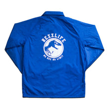 "Load image into Gallery viewer, ""Royal Blue Coach Jacket (Limited)"""
