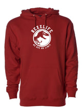 "Load image into Gallery viewer, ""Special Edition Cardinal Red RexxLife Hoody"""