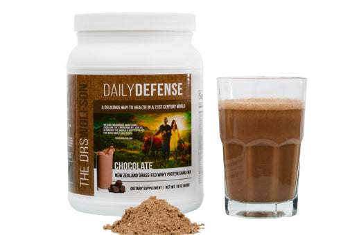 Daily Defense Chocolate Whey Protien Shake
