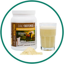 The Drs. Wolfson Daily Defense Whey Protien Shake