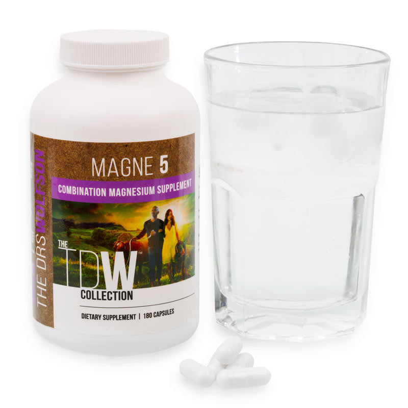 Magne 5 Magnesium from The Drs. Wolfson Supplement Collection