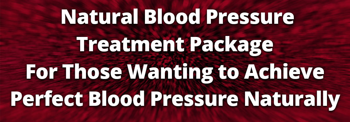 Natural Blood Pressure Treatment Package
